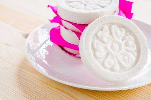 Tipo de panqueca chinesa feita de farinha de arroz