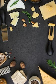 Tipos diferentes de queijo