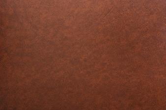 Tiro de quadro completo de fundo de couro marrom