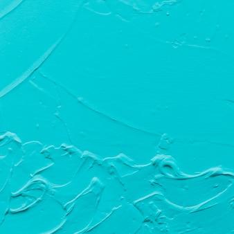 Tiro de quadro completo de parede cor turquesa