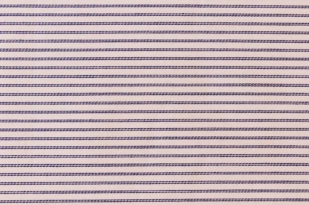 Tiro de quadro completo de têxteis de padrão de listras
