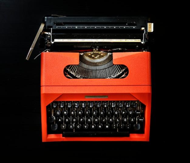 Tiro de typrewriter vintage