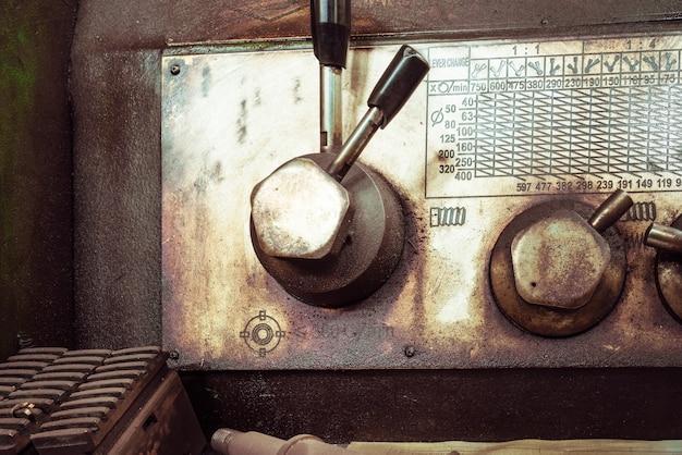 Tiro detalhado de máquinas