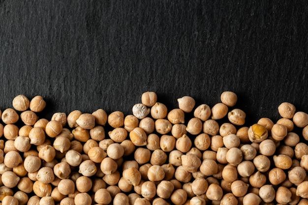 Tiro macro de soja