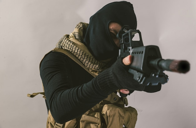 Tiro terrorista