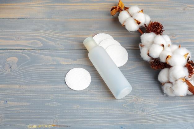 Toalha de algodão com conceito de spa-filial de algodão