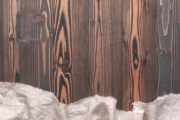 Toalha de mesa em madeira