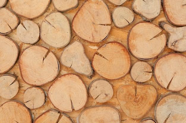 Tocos de madeira