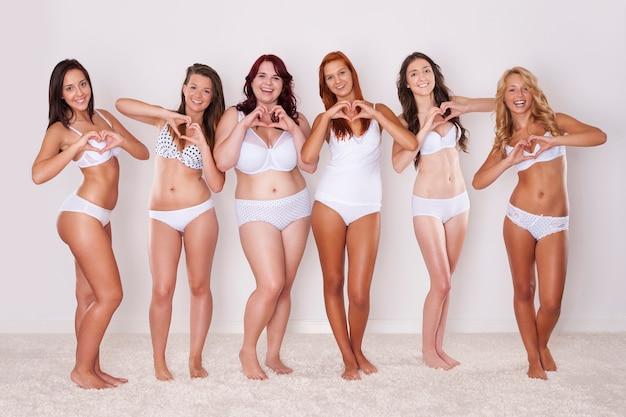 Todos deveriam amar seu corpo