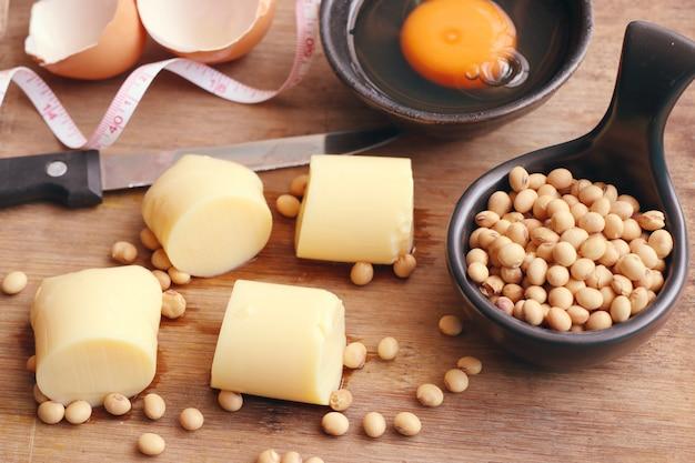 Tofu e soja
