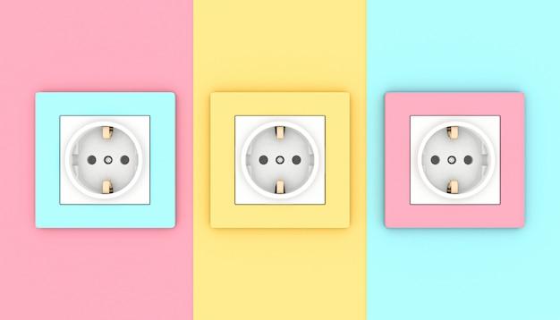 Tomadas elétricas de parede