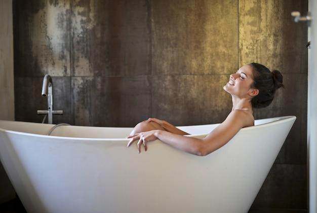 Tomando um bom banho