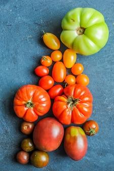 Tomates do mercado do fazendeiro