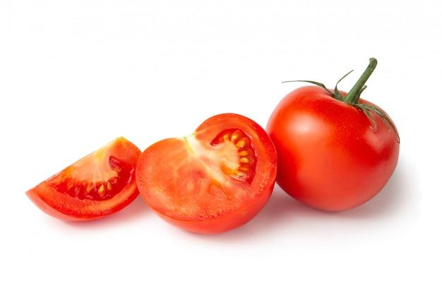 Tomates. vegetais frescos.