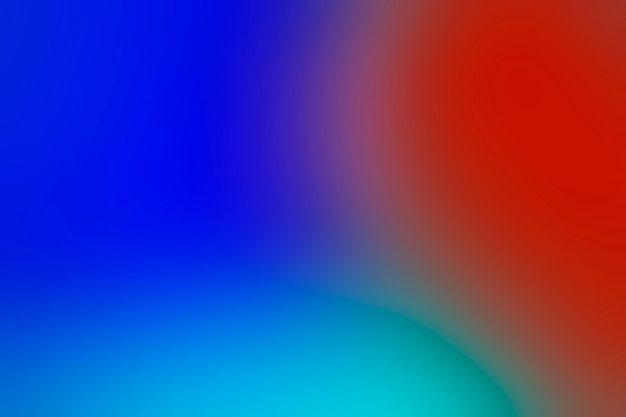 Tons de cores brilhantes na mistura