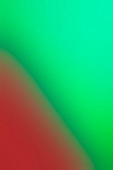 Tons de mistura verde e vermelha