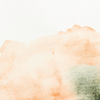 Tons de salmão em aquarela pintar abstrato