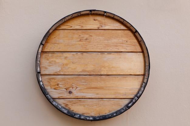 Topo de barril de vinho
