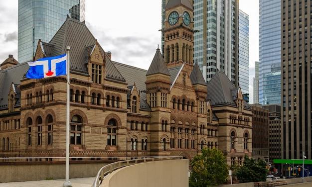 Toronto old city hall, em ontário, canadá