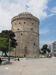 Torre branca em salônica
