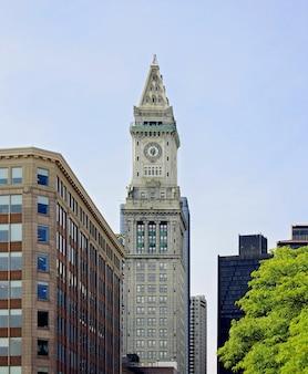 Torre da custom house em boston