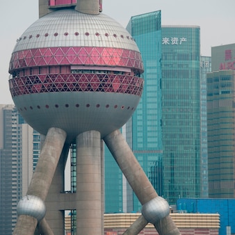 Torre da pérola oriental, pudong, xangai, china