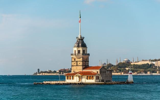 Torre das donzelas em istambul