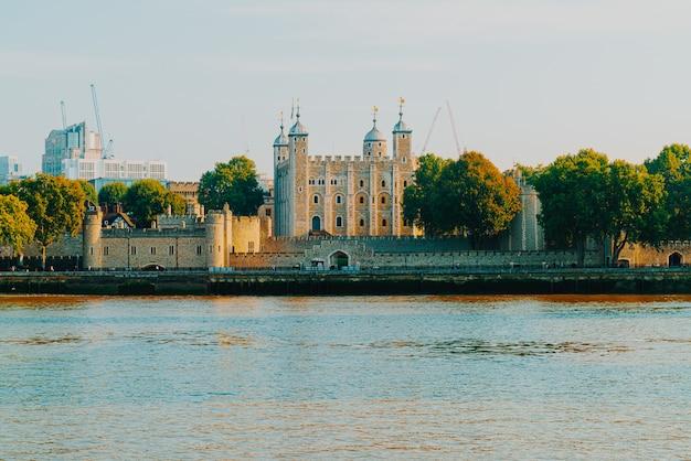 Torre de londres palácio edifício marco em londres