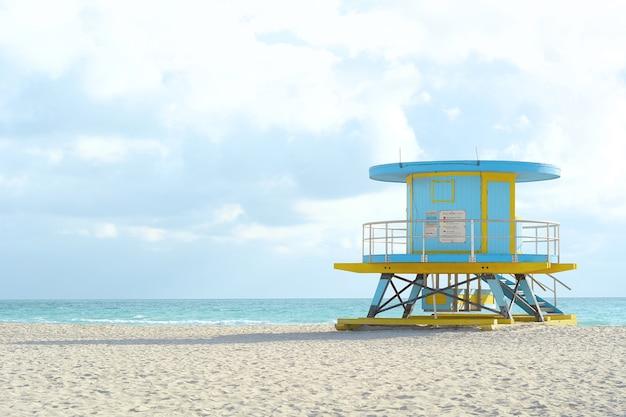Torre de salva-vidas em miami