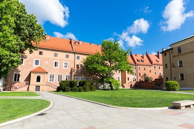 Torre do castelo wawel, cracóvia, polônia
