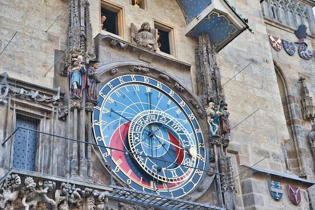 Torre do relógio astrológico em praga