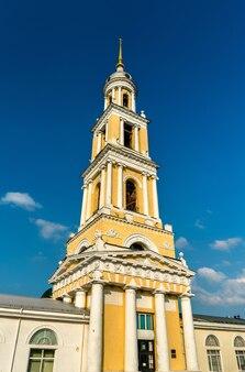 Torre do sino da igreja de joão apóstolo em kolomna, o anel de ouro da rússia