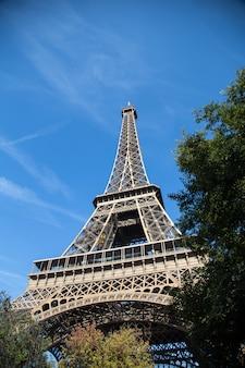 Torre eiffel, símbolo de paris, frança. melhores destinos de paris na europa
