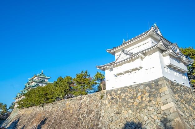 Torre sudoeste do castelo de nagoya marco em nagoya, japão
