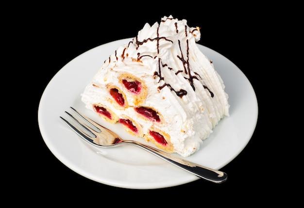 Torta de cereja pirâmide