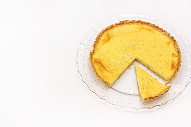 Torta de creme doce ou torta de limão