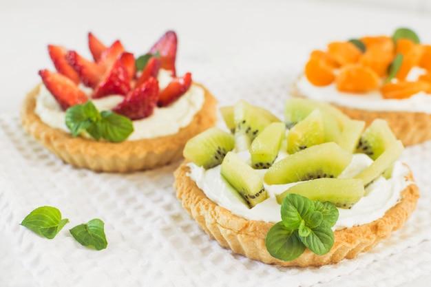 Torta de frutas deliciosas