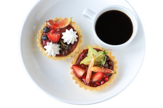 Torta de frutas mistas