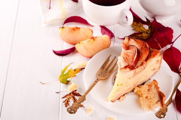 Torta de maçã caseira