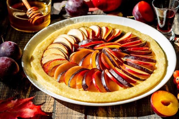 Torta de maçã de cozinha