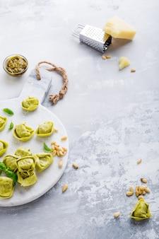 Tortelloni italiano cru caseiro