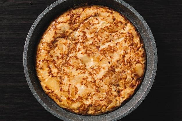 Tortilha de patatas, prato típico espanhol