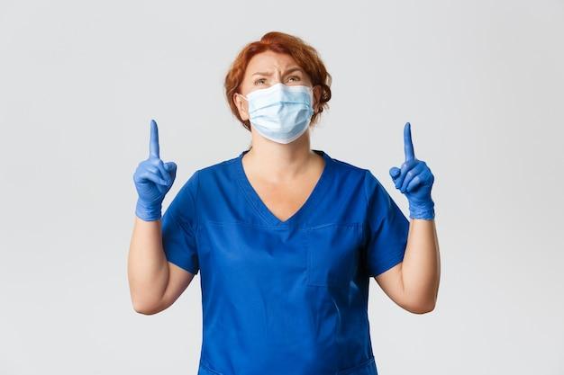 Trabalhadores médicos, pandemia de covid-19, conceito de coronavírus.