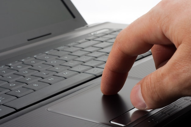 Trabalhando em um computador