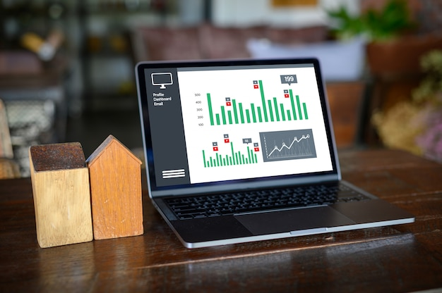 Trabalhe duro data analytics estatística informação business technology