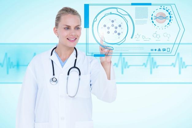 Trabalho especializado com aplicação médica
