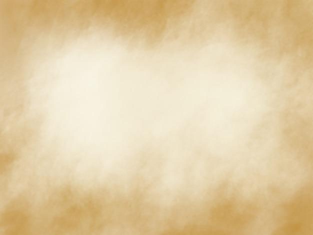 Traçados de pincel aquarela ouro abstrato textura de fundo com espaço de cópia