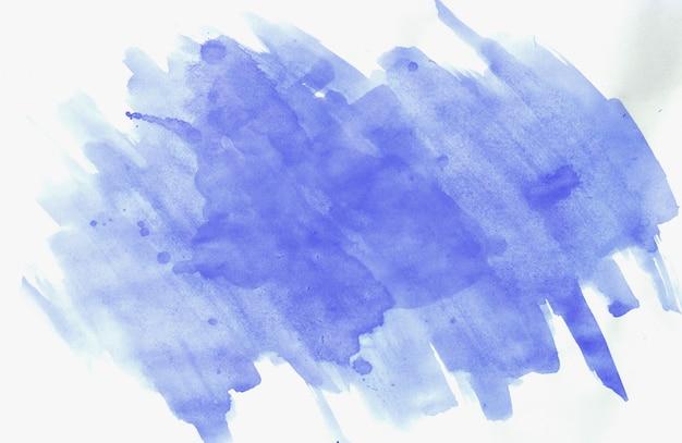 Traçados de pincel azul