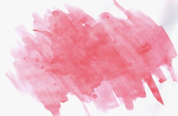 Traçados de pincel rosa