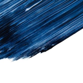Traços e rímel de textura ou fundo acrílico.